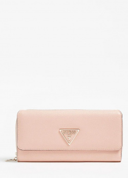 Женский кошелек Guess Alby розового цвета, фото