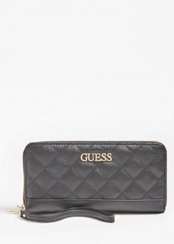 Женский кошелек Guess Illy черного цвета, фото
