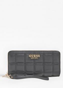 Стеганый кошелек Guess Kamina из экокожи, фото