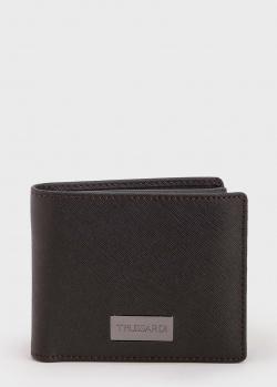 Коричневое портмоне Trussardi со съемным кардхолдером, фото