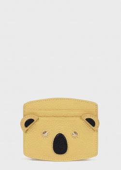Желтый кардхолдер Furla Allegra в виде коалы, фото