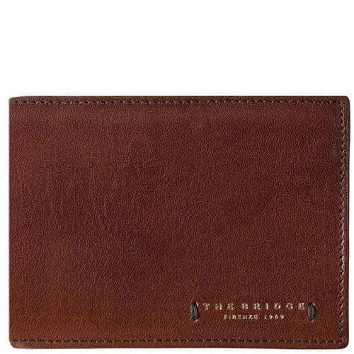 Мужское портмоне The Bridge Passpartout Uomo коричневое, фото