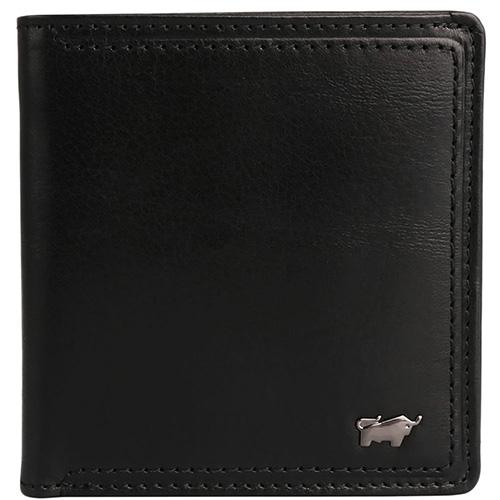 Черное портмоне Braun Bueffel Venice с карманом для монет, фото