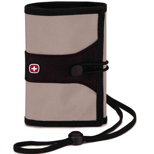 Дорожный кошелек Wenger WE6077GY серого цвета, фото
