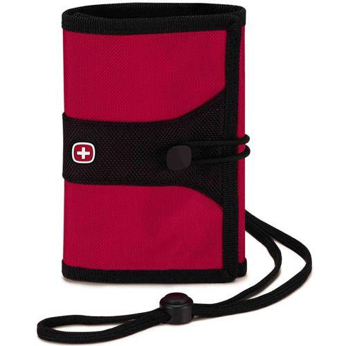 Дорожный кошелек Wenger WE6077R красного цвета, фото