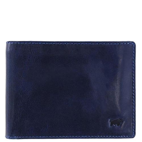Портмоне Braun Büffel Arezzo синего цвета с RFID-защитой, фото