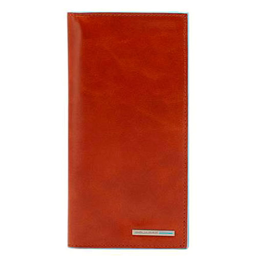 Портмоне Piquadro Bl Square оранжевого цвета, фото