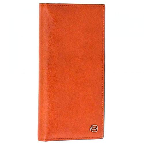 Портмоне Piquadro Bk Square с отделением для кредитных карт в коричневом цвете, фото