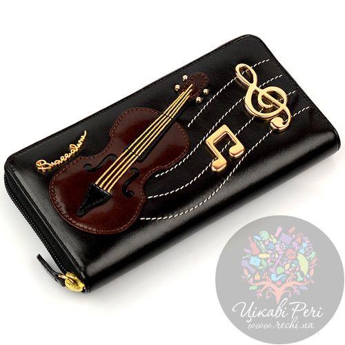Кошелек Braccialini Temi с шоколадной скрипкой, фото