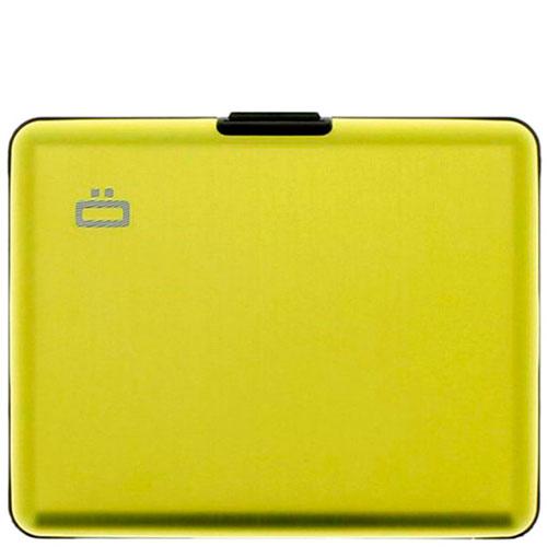Бумажник Ogon Designs Big stockholm желтого цвета, фото