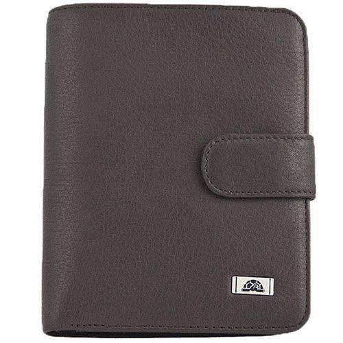 Вертикальное коричневое портмоне Tony Perotti Contatto на застежке-кнопке, фото