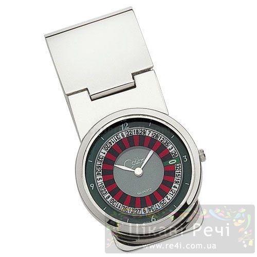 Зажим для денег - часы «Рулетка», фото