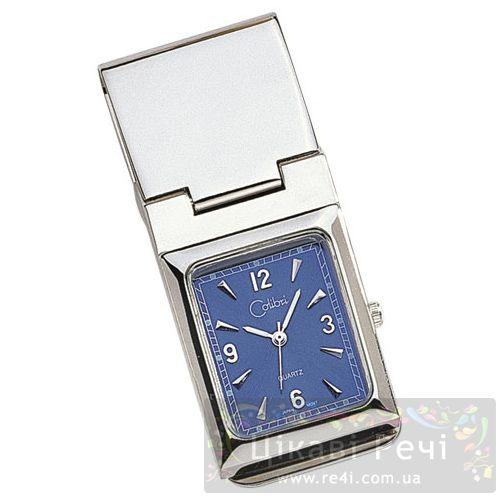 Зажим для денег - часы из полированной стали, фото