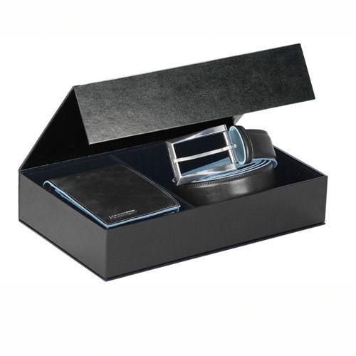 Набор: портмоне Piquadro Blue Square и ремень, фото