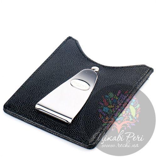 Кредитница-зажим для денег и карт Dalvey черного цвета, фото