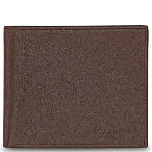 Портмоне Davidoff Essentials коричневого цвета, фото