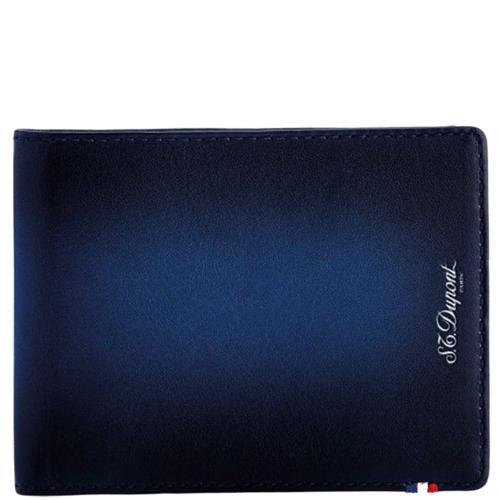 Синее портмоне S.T.Dupont Atelier, фото