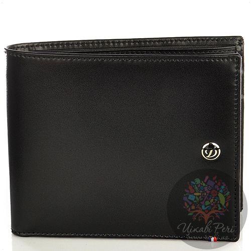 Портмоне S.T.Dupont Ligne D Elysee из черной кожи на пять кредитных карт со съемным блоком еще для семи карт, фото
