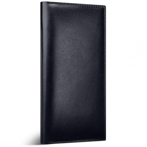 Кожаный кейс Moreca Black Flycase для денег документов паспортов и билетов, фото