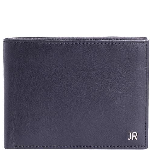 Черный портмоне John Richmond Mick Jagger из мягкой кожи, фото