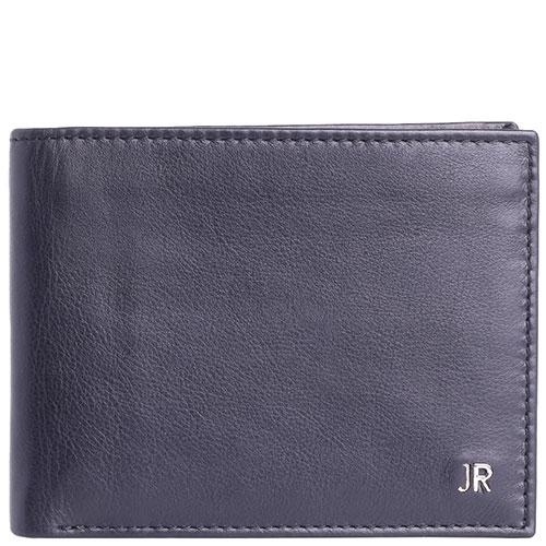 Портмоне John Richmond Mick Jagger черного цвета  с отделением для документов, фото