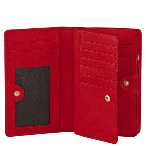 Портмоне Piquadro Shimmer женское красное, фото