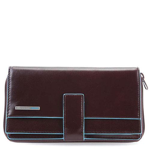 Черный портмоне Piquadro Bl Square с RFID защитой, фото