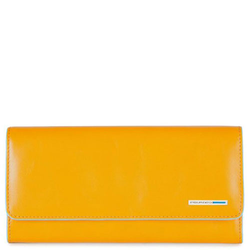 Портмоне Piquadro Bl Square желтого цвета , фото