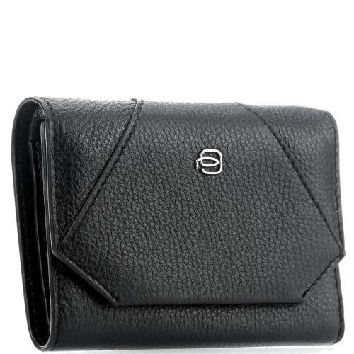 Черное портмоне Piquadro Muse, фото