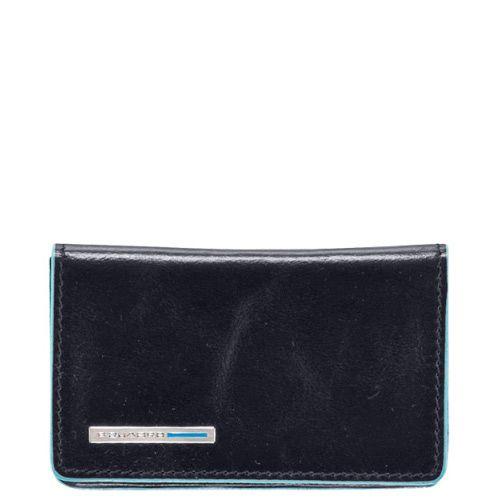 Визитница Piquadro Blue square для своих визиток тёмно-синяя, фото