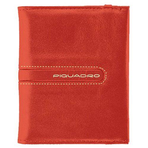 Кредитница Piquadro Freeway оранжевая на 20 кредитных карт, фото