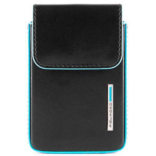 Кредитница Piquadro Bl Square черного цвета с RFID защитой , фото