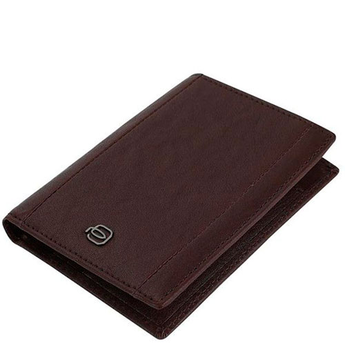 Портмоне Piquadro Brief с RFID защитой в коричневом цвете, фото