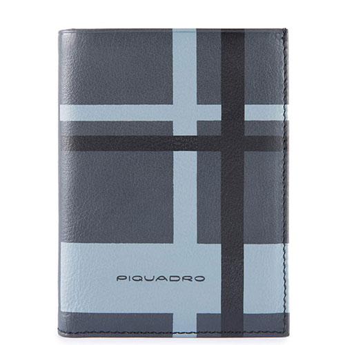 Портмоне Piquadro Tag с отделением для 9 кредитных карт и RFID защитой черного цвета, фото
