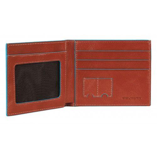 Портмоне Piquadro с отделением для документов Blue square красное, фото