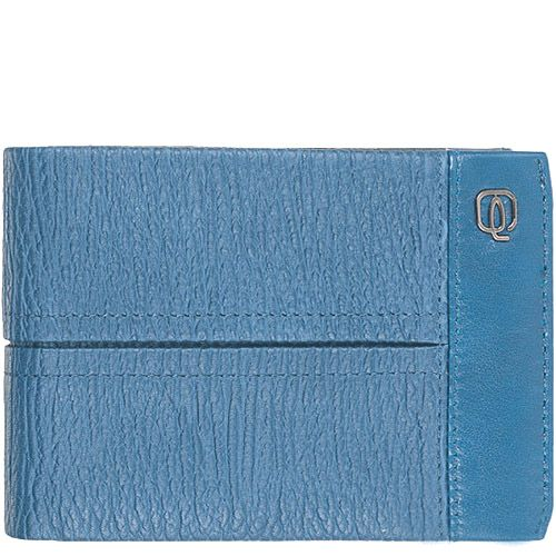 Портмоне Piquadro Signo мужское голубого цвета, фото