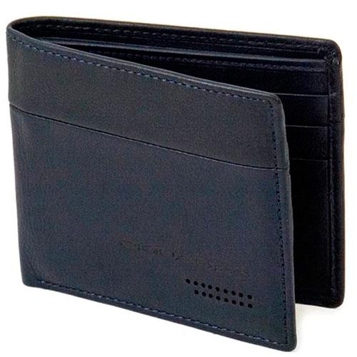 Синее портмоне Piquadro Urban с RFID защитой , фото