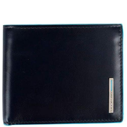 Портмоне Piquadro Bl Square синего цвета и RFID защитой , фото