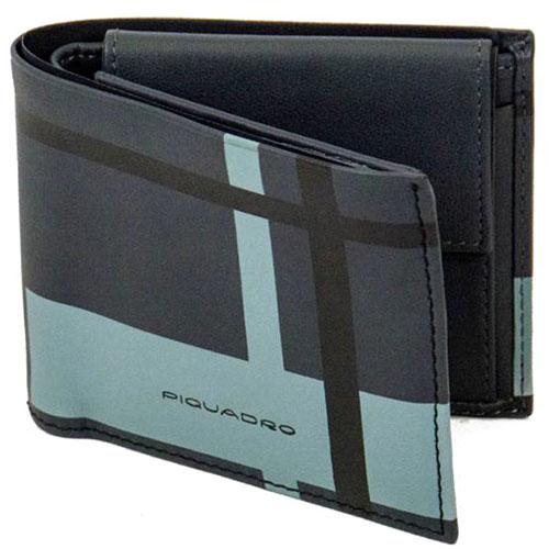 Портмоне Piquadro Tag черного цвета с RFID защитой , фото