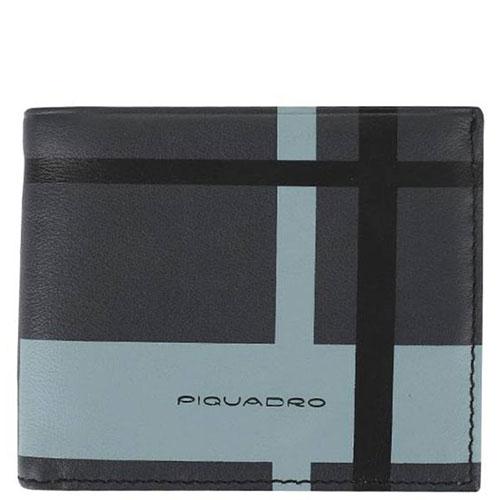 Портмоне Piquadro Tag в черном цвете с RFID защитой , фото