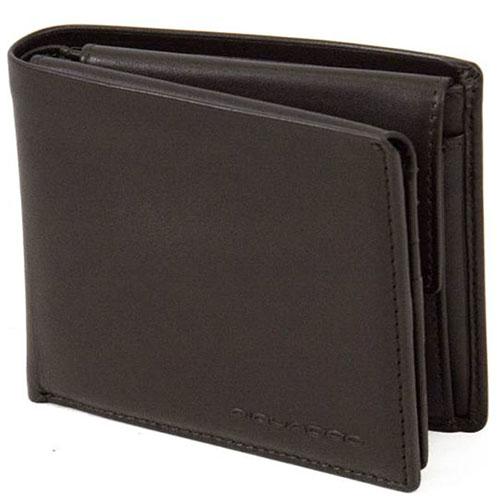 Портмоне Piquadro Tag коричневого цвета с RFID защитой , фото