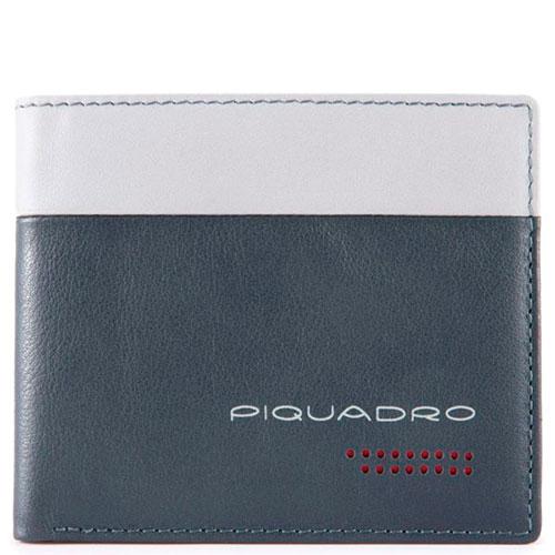 Портмоне Piquadro Urban с отделением для монет серого цвета , фото