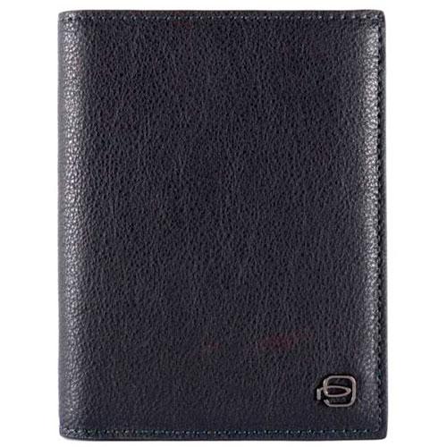 Мужское портмоне Piquadro Bk Square синего цвета, фото