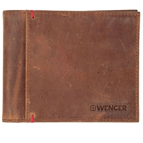 Портмоне Wenger Hayden Bifold коричневое, фото