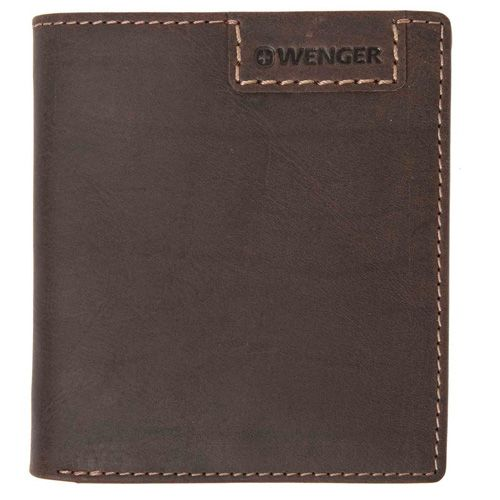 Портмоне Wenger Cosmo Short Traveler коричневое, фото