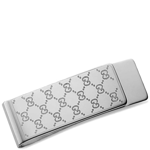 Зажим для денег Gucci из серебра Icon, фото