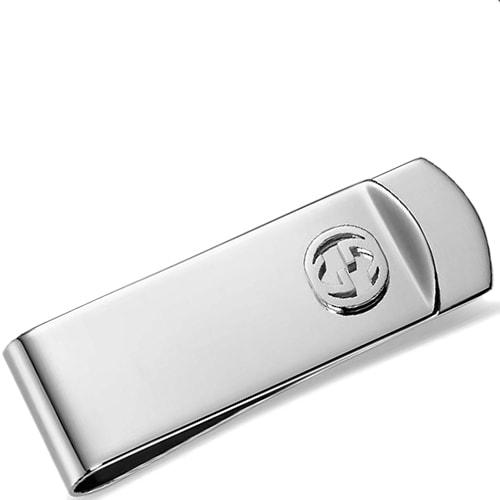 Классический зажим Gucci для денег из стерлингового серебра, фото