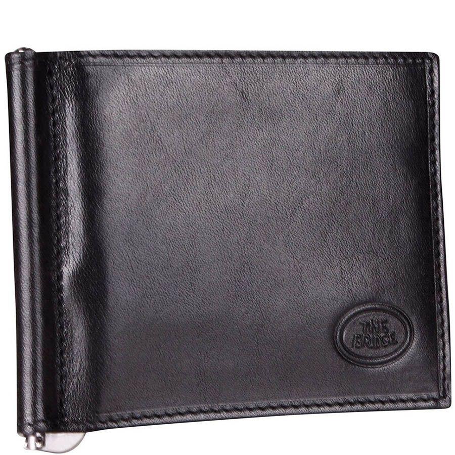 Портмоне с зажимом для банкнот The Bridge Story Uomo черного цвета