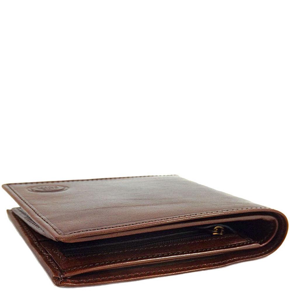Большое мужское портмоне The Bridge Story Uomo коричневого цвета