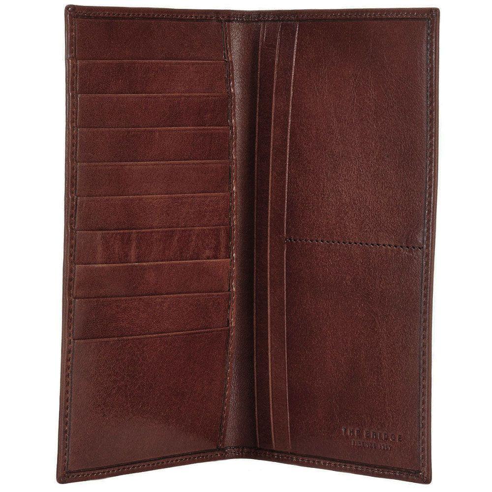 Мужской бумажник The Bridge Story Uomo коричневого цвета